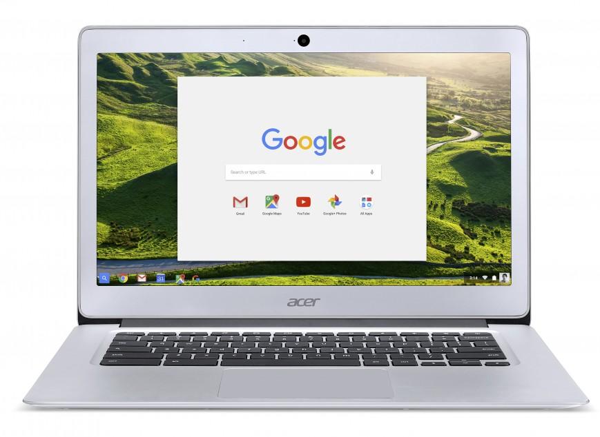 Acer Chromebook 14 for Work первым получил Vibrant Gorilla Glass с цветными рисунками