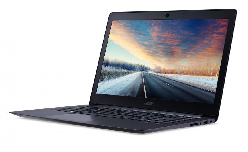 Acer представила тонкий TravelMate X349 для работы
