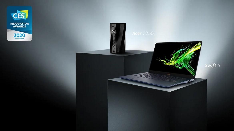 Acer получила награды CES 2020 за инновации