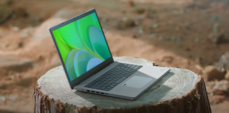 Ноутбук Acer Aspire Vero – продукт на платформе Earthion
