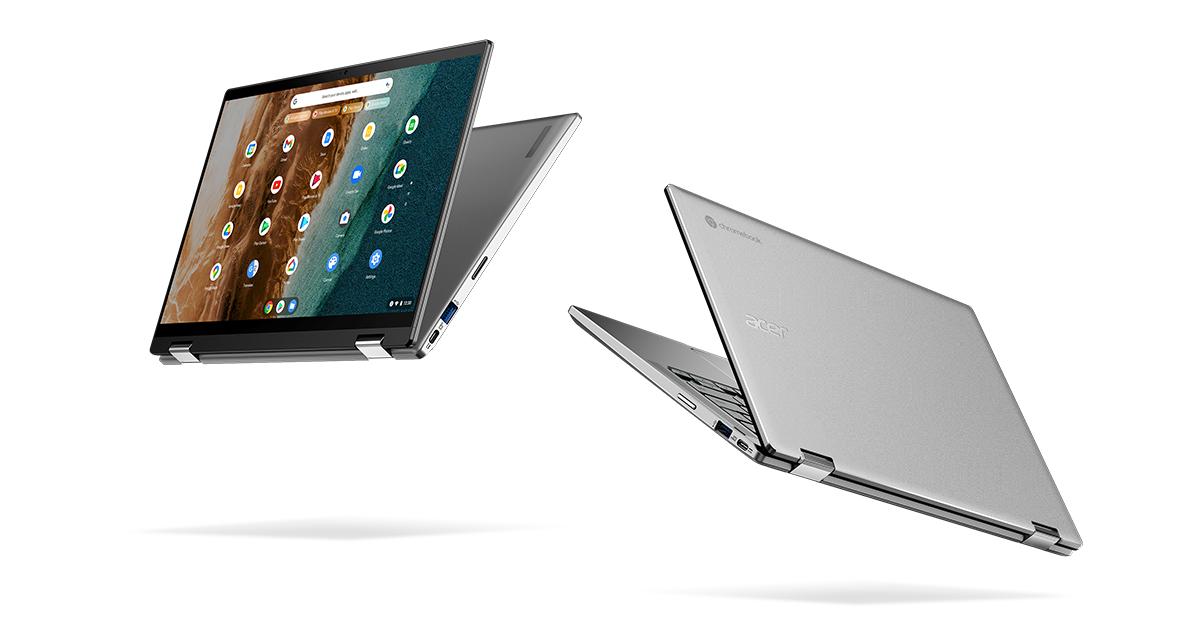Новые Acer Chromebook с большим экраном